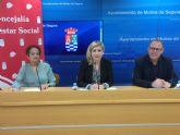 El Ayuntamiento de Molina de Segura firma un convenio con la asociación TEDIS para el mantenimiento de su centro ocupacional en 2019