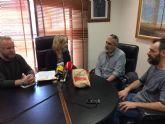 Recepción en el Ayuntamiento de Molina de Segura a la panadería molinense La Subirana