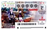 La fiesta de Los Mayos de Alhama, protagonista del d�cimo de Loter�a Nacional
