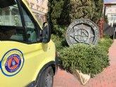 Protecci�n Civil entrega 147 m�scaras a la UPCT para su transformaci�n como respiradores, y su posterior donaci�n a hospitales murcianos