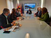 El GPP y el alcalde de Alcantarilla analizan los proyectos iniciados por el Ayuntamiento para el desarrollo del municipio