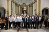 La Parroquia del Cristo de la Salud conmemoró su 50 aniversario con un recibimiento a la Virgen de los Dolores y a San Cristóbal
