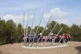 Los alumnos del colegio San Cristóbal de Lorca visitan el Sendero Astronómico y el Centro de Interpretación de la Naturaleza del Cabezo de la Jara