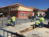 Las obras del colector de pluviales terminarán hoy, y su puesta en servicio será esta semana.