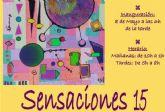 Asido expone su muestra de arte y artesania Sensaciones 15 en el Ramon Alonso Luzzy