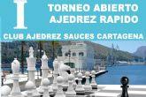 La Asociacion de Vecinos Sauces acoge el I Torneo Abierto de Ajedrez Rapido en Cartagena