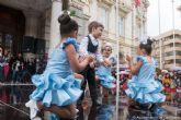 Mas de 400 alumnos de las escuelas de baile de Cartagena participaron este sabado en un festival con motivo del Dia Internacional de la Danza