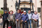 El Llano del Beal celebró el 40 aniversario de la inauguración del monumento al minero