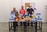 La Asociación de Mayores de Alumbres colabora con el operativo de emergencia social