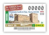 Los cupones de la ONCE 'en confinamiento' recuerdan el 500 aniversario del Castillo de Mula