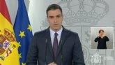El presidente del Gobierno anuncia una nueva pr�rroga del estado de alarma