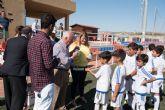 70 alumnos se forman en la escuela deportiva de la Fundación Real Madrid en Mazarrón