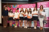 Alumnas del colegio siglo XXI son premiadas en el concurso