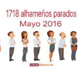 1718  alhameños parados en mayo