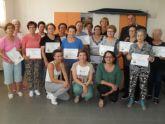Se clausura el programa de Gimnasia para Mayores en El Paretón, con la entrega de diplomas