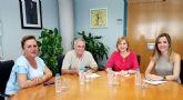 La Comunidad pondrá en marcha un servicio de centro de día para personas con enfermedad mental en el Valle de Ricote