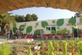 Los escolares plantan más de 300 árboles y plantas para aumentar los espacios verdes en Puerto Lumbreras