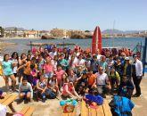 Concluye con éxito la unidad didáctica de deportes náuticos introducida en colegios e institutos del municipio