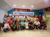 Pedro Antonio S�nchez, presidente del PP regional, se re�ne con la directiva del PP totanero