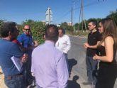 Nuevas aceras en Churra y Sangonera la Seca mejorarán la accesibilidad y seguridad de los peatones