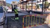 Saorín: 'Se están llevando a cabo obras de reparación del pavimento en catorce calles'