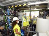 Murcia participa en un proyecto europeo que recupera los nutrientes de las aguas residuales para usarlos como fertilizantes