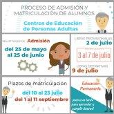 Abierto el plazo de inscripci�n en el centro de educaci�n de adultos Bajo Guadalent�n