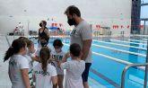 La piscina de Las Torres de Cotillas, sede de la liga de la Federación de Natación de la Región de Murcia