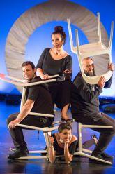 Yampo Teatro presenta la comedia BADUN TSSS! (Y EL HUMOR MALDITO) el viernes 4 de junio en el Teatro Villa de Molina