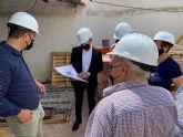 Las obras de rehabilitación del Centro de la Tercera Edad de San Cayetano estarán finalizadas a finales de agosto
