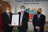 El Colegio de Enfermería nombra miembro de honor a Carmelo Gómez