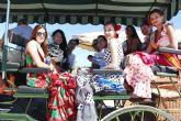 Carros, calesas y jinetes desfilan por las calles de San Pedro en el XIV Encuentro de Carruajes Ganado