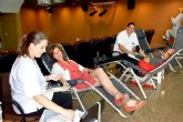 Los hospitales de la Región se suman en julio a la campaña de colectas de sangre