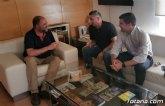 La nueva Junta Directiva del Ol�mpico de Totana mantiene su primera toma de contacto con el Alcalde de Totana