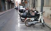Habilitan m�s plazas de estacionamiento para motocicletas y ciclomotores en la calle del Pilar, eliminando las existentes en la plaza de la Constituci�n