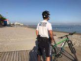 La Policía Local de San Pedro del Pinatar  vuelve a vigilar paseos marítimos y playas durante el verano