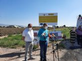 La Comunidad acondiciona y mejora la seguridad de dos v�as rurales de Totana con una inversi�n de 213.504 euros