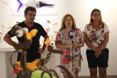 Flyppy recrea la fauna y flora de San Pedro del Pinatar