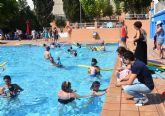 Más de 1300 alumnos participan en los cursos de natación de Archena