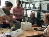 Profesores de la Universidad visitan el Laboratorio de Investigaciones Arqueológicas y Paleoantropológicas del Cabezo Gordo