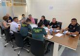 La junta local de seguridad se centra en la problemática de los barrios del Carmen y Los Vicentes