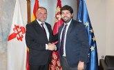 El presidente L�pez Miras recibe mañana al alcalde de Totana