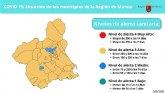 La tasa de incidencia se estabiliza en la Regi�n de Murcia respecto a la semana anterior