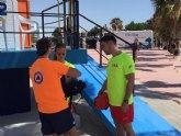 Se amplia el servicio de vigilancia en las playas de Los Alcázares