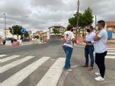 En los próximos días comienzan las obras en la avenida de Murcia en Balsicas