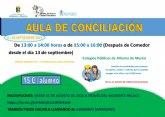 Abierto el plazo de inscripci�n para el aula de conciliaci�n durante el mes de septiembre