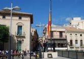 El Ayuntamiento de Totana volverá a celebrar el próximo 12 de octubre el acto institucional de homenaje a la Bandera de España