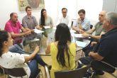 Miembros de la Corporaci�n municipal y t�cnicos de la Concejal�a de Urbanismo se re�nen en la Mesa de Trabajo