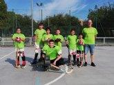 Debut del equipo Benjam�n del Club Hockey Patines de Totana en la Liga de la Federaci�n Valenciana