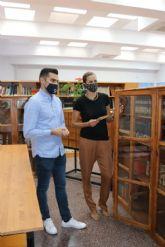 La Biblioteca Pública Municipal 'Mari Carmen Campoy' abre de nuevo sus puertas siguiendo todos los protocolos Covid-19 de seguridad